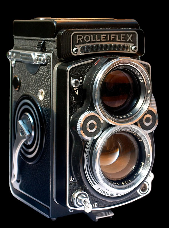 Rolleiflex 3.5F Baujahr 1960