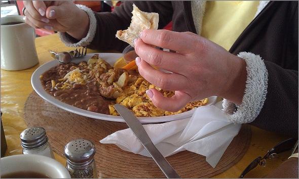 Sandras Frühstück