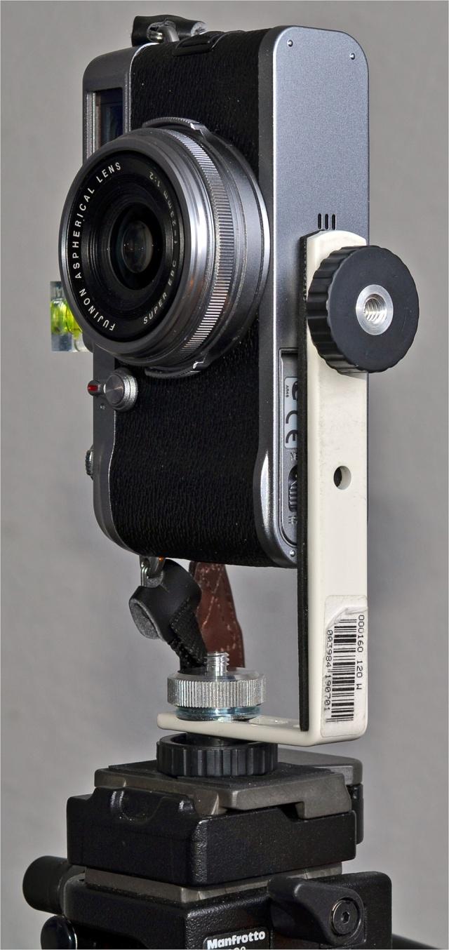 Fuji X100 mit Nodalpunkt-Adapter II