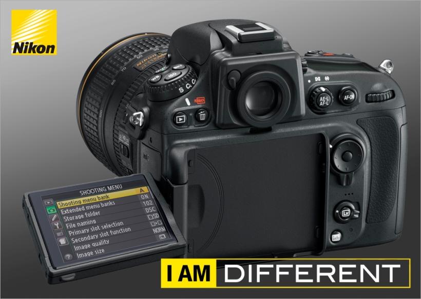 Nikon D800s mit Klappdisplay