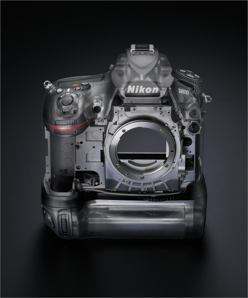 Nikon D800 Press im Titan-Gehäuse