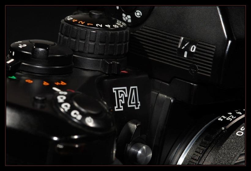 Nikon F4 Detail
