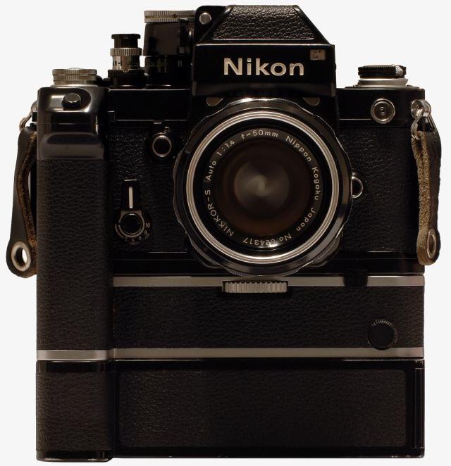 Nikon F2 mit MD-2