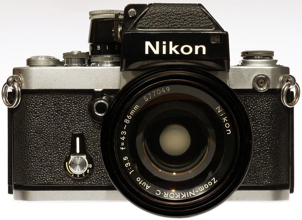 Nikon F2 Silver