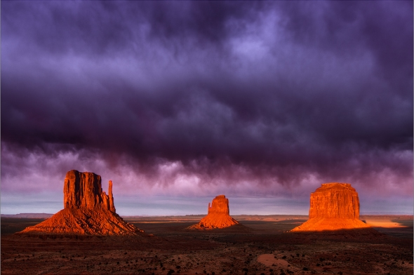 Sunset im Monument Valley