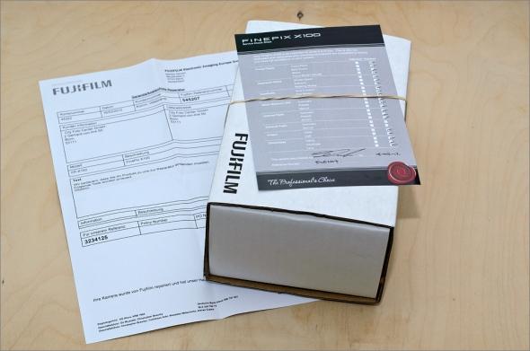 Fuji Finepix X100 - Frisch repariert