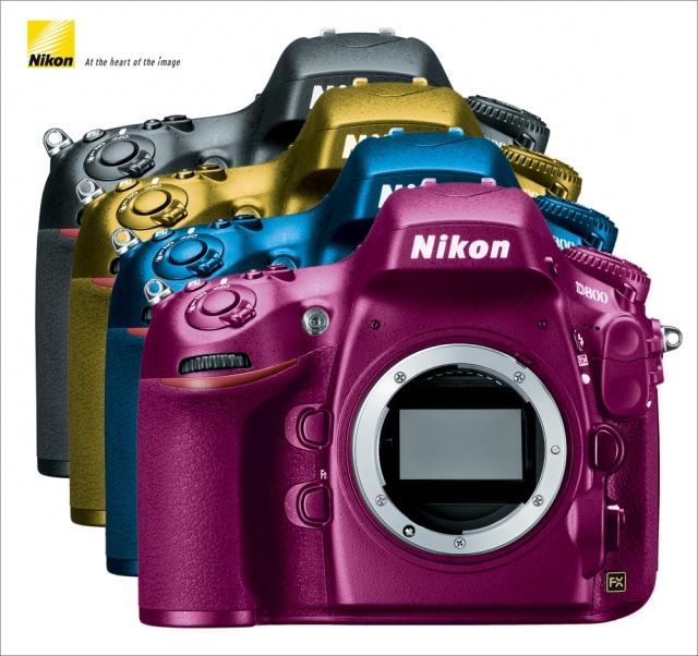 Nikon D800 - Neue Varianten