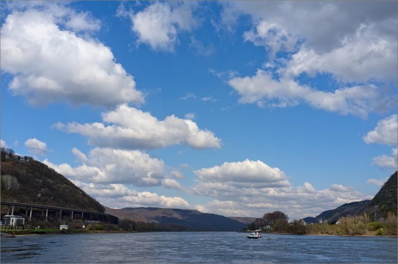 Andernach am Rhein mit Fuji Finepix X100