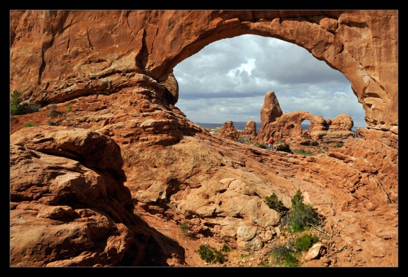 Nikon D2x - Arches NP - Window Section