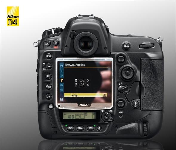 Nikon D4 - Neue Firmware gesichtet?