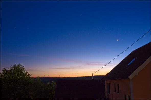 Blue Hour im Saarland