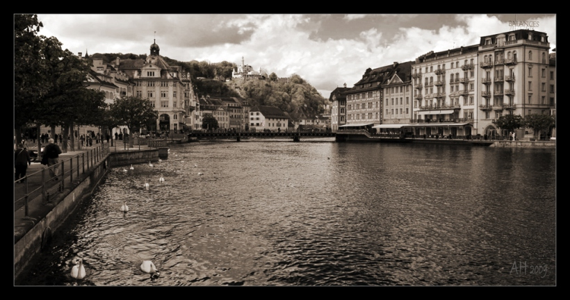 In Luzern an der Reuss