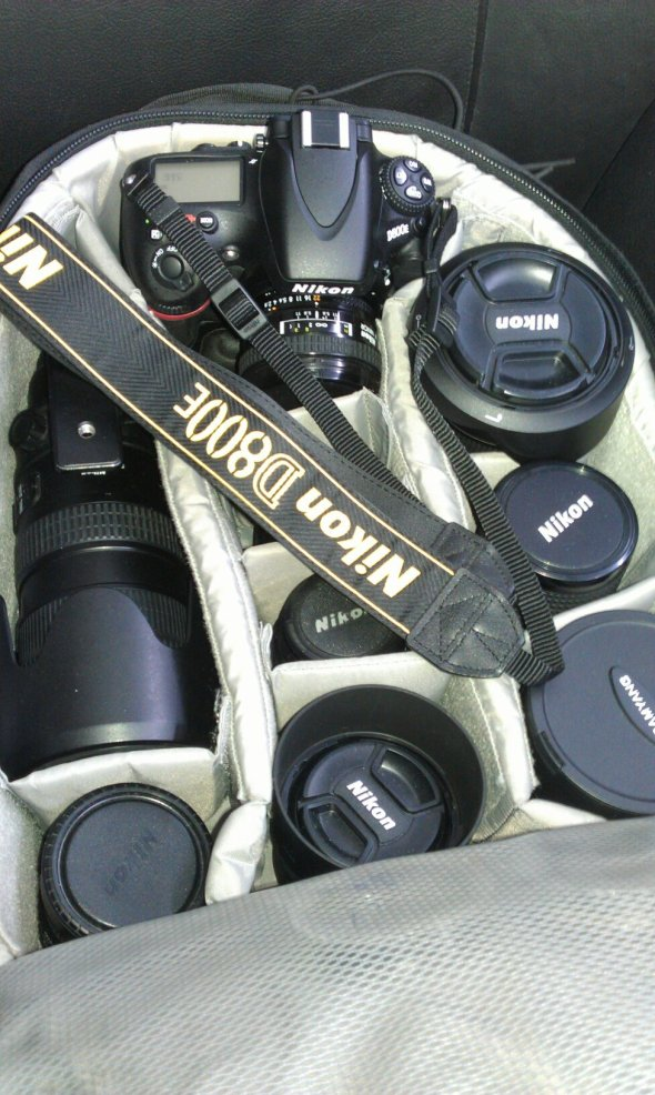 Nikon D800E - Bereit für die erste Fototour