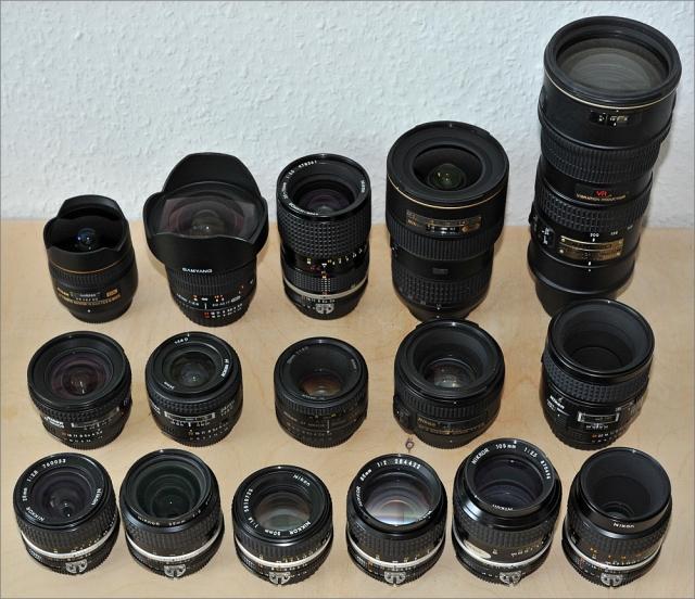 Objektiv Empfehlung für die Nikon D800 und D800E