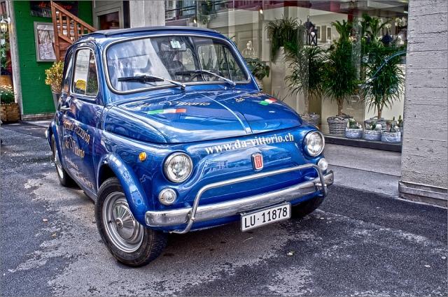 Fiat 500 mit Fuji Finepix X100