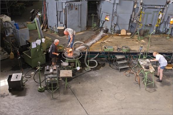 In der Glashütte bei Hergiswil mit der Fuji Finepix X100