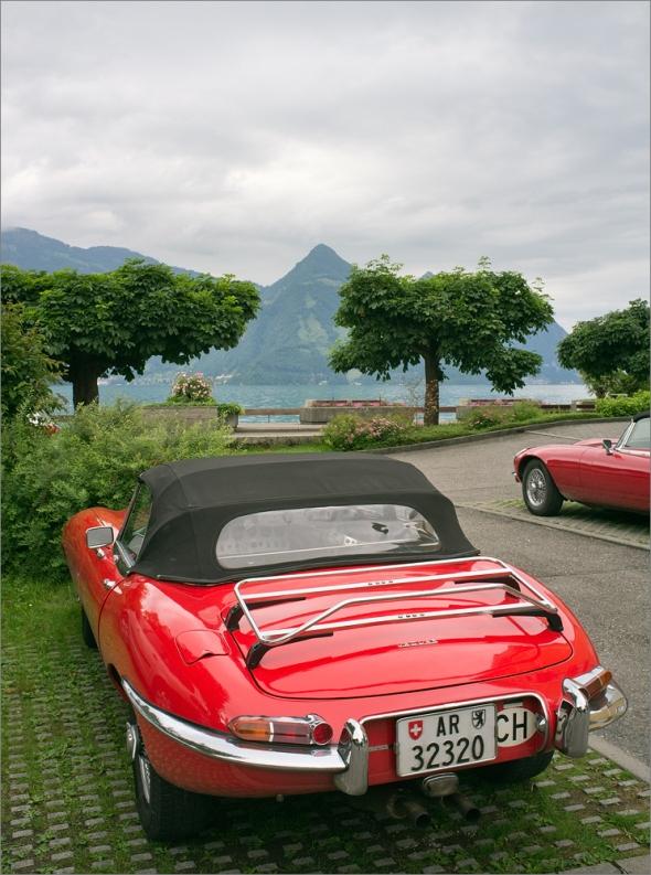 Jaguar E-Type mit Fuji Finepix X100
