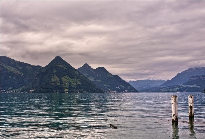 Vierwaldstätter See mit Fuji Finepix X100