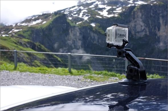 Auf dem Klausenpass mit GoPro HD HERO 1080
