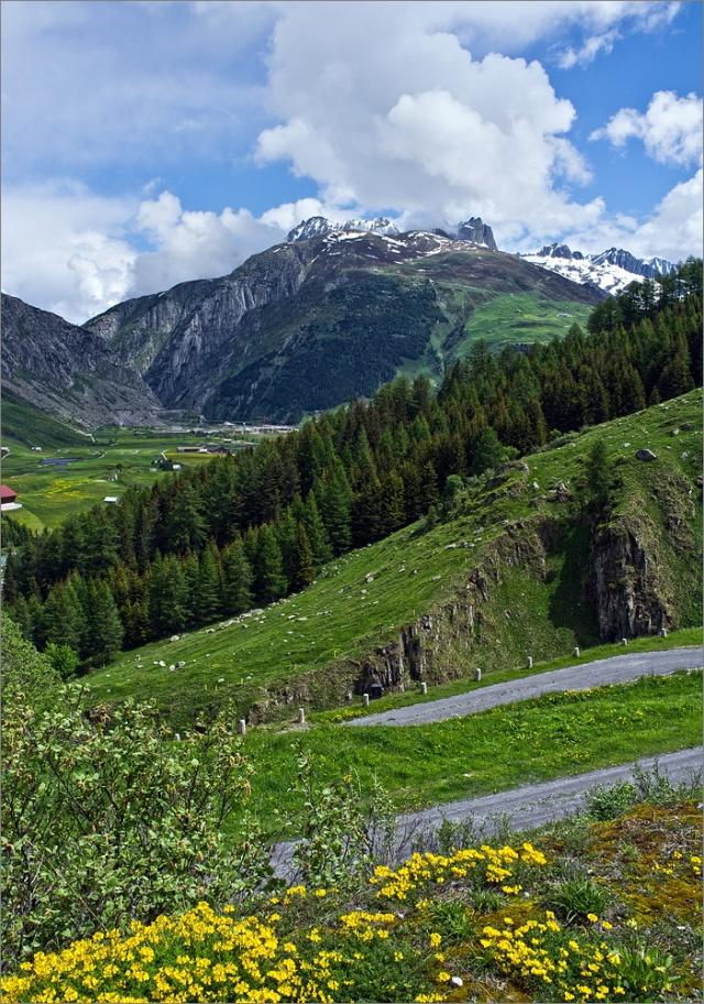 Unterwegs auf dem St. Gotthard Pass mit Fuji X100