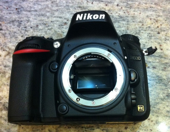 Nikon D600 - Front  - Leaked