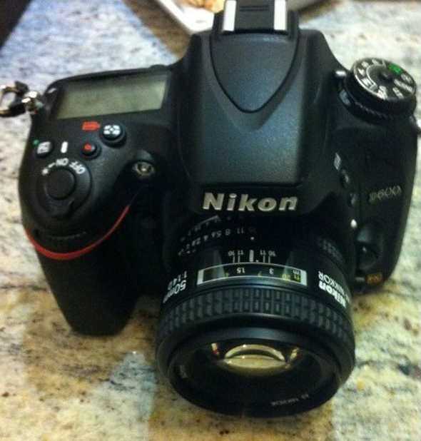 Nikon D600 - Top - Leaked
