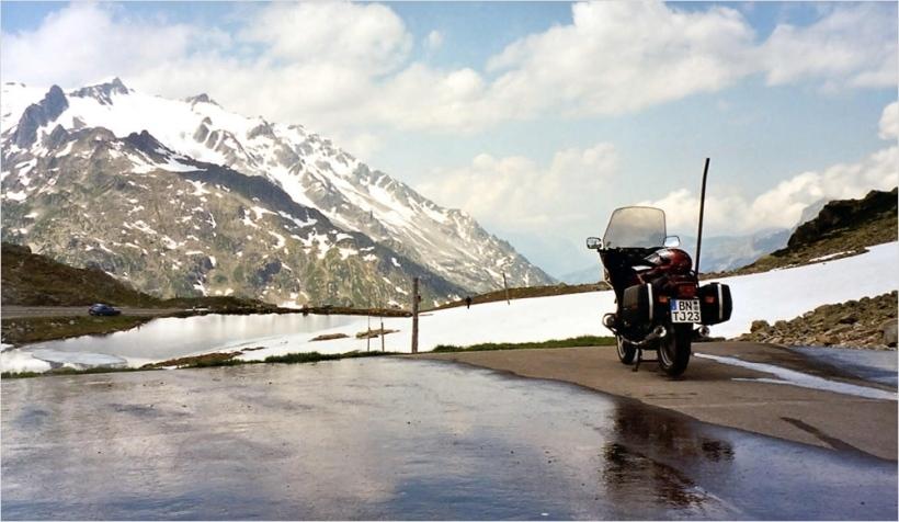Sustenpass mit BMW R80-RT