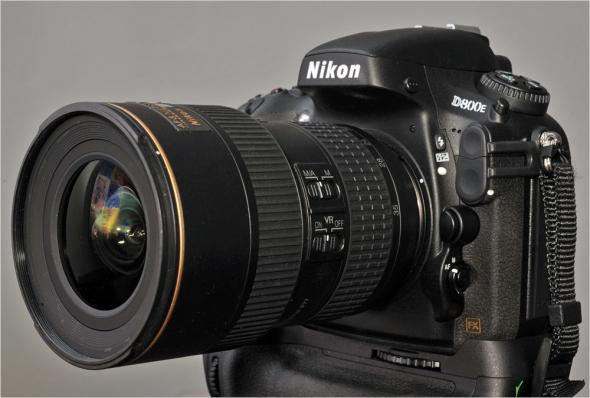 Nikon D800E - Nikon AF-S VR 4/16-35mm