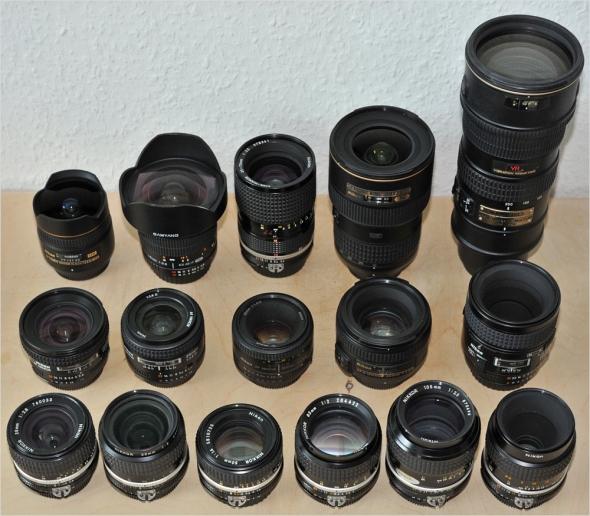 Objektivauswahl - Nikon D800E - Lens Suggestions