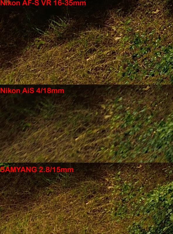Beispielbild - Example Picture - Nikon D800E - Edge Sharpness - Wideangle Comparison