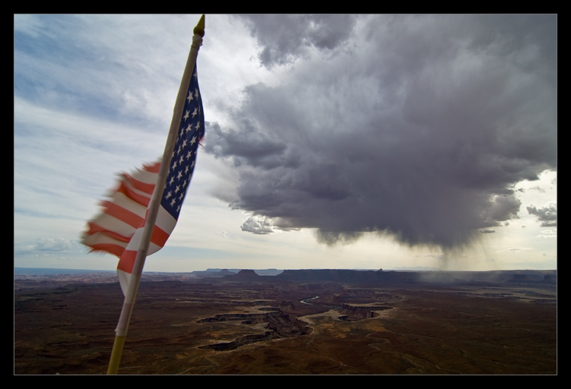 Storm over Canyonlands