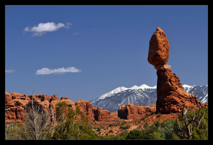 Balanced Rock im Arches Nationalparl Utah