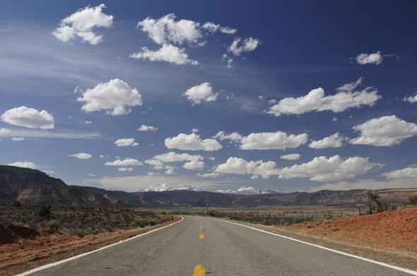 Abstecher von Moab nach Colorado