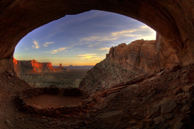 False Kiva bei Moab