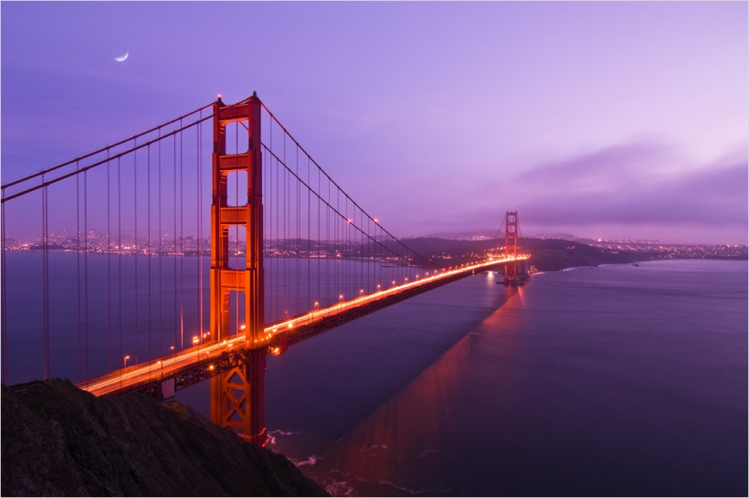 Golden Gate Bridge - USA South West - Nikon D600