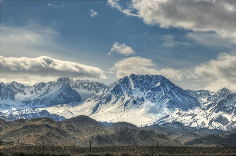 Nevada Mountains - USA South West - Nikon D600