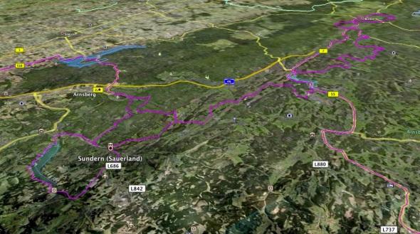 Sauerland Tour - Details