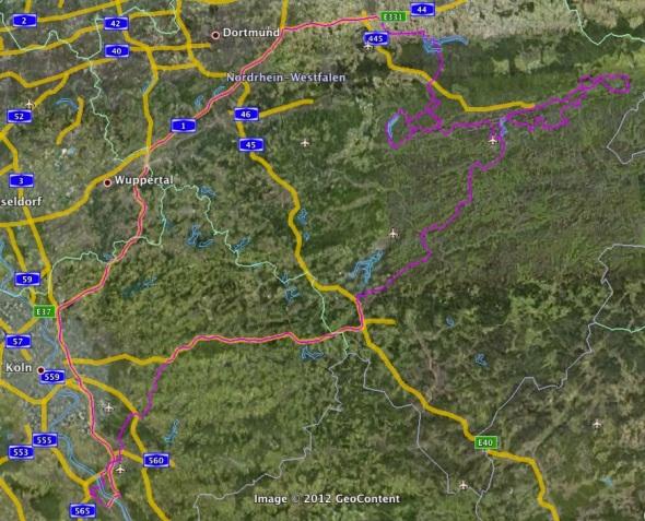 Sauerland Tour - Übersicht
