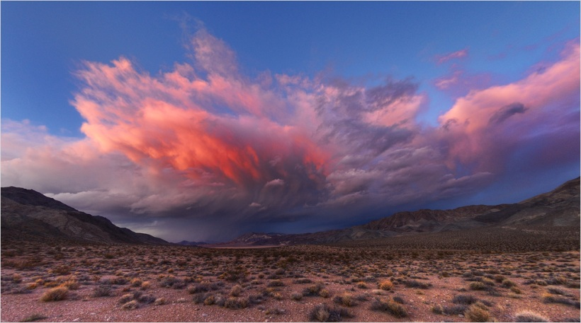 Storm over Race-Track - Death Valley - Nikon D600
