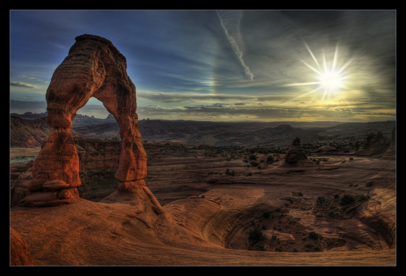 Delicate Arch im Arches National Park bei Moab