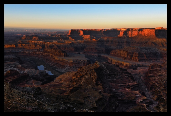 Sonnenaufgang im Canyonlands National Park bei Moab