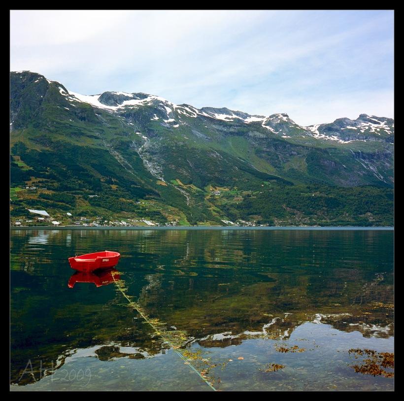 Norwegen 2009 - Hardanger Fjord - Rolleiflex 3.5f