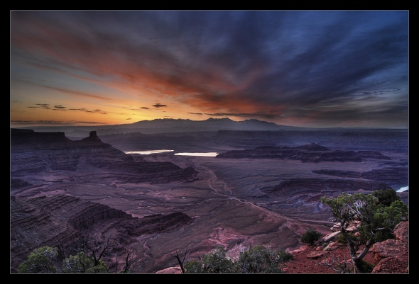 La Sal Sunrise - Dead Horse Point