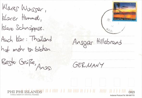 Anastaisos - Allein auf Weltreise - Phi Phi Island