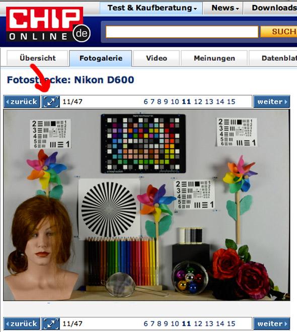 Bilderstrecke mit Testbildern und Beispielfotos aus der Nikon D600 bei chip.de