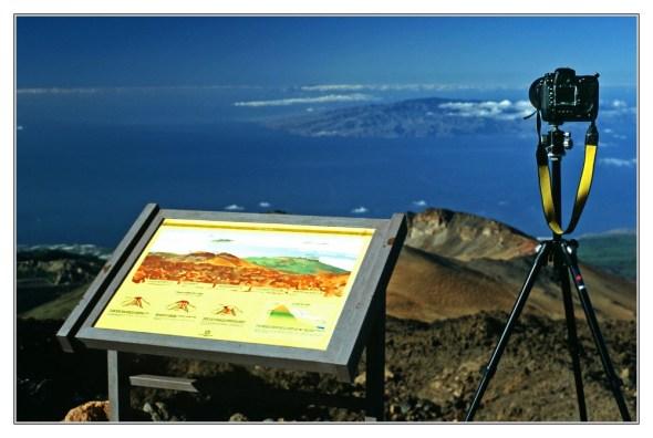 Manfrotto 190CLB - Nikon D2x - Pico del Teide - Teneriffa