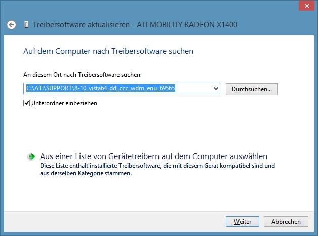 Ati Mobility Radeon X1400 Driver Download Windows 8