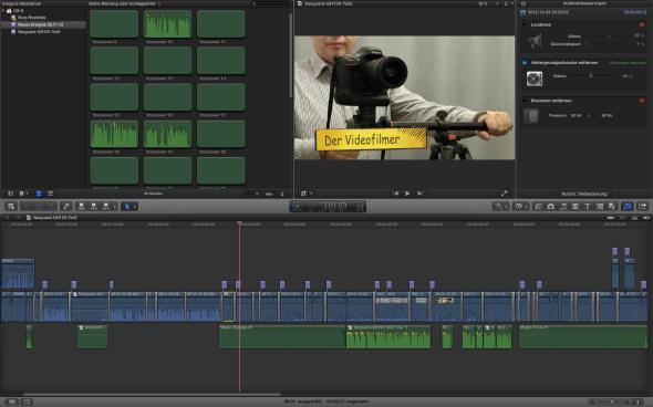 Videoschnitt - Das perfekte Stativ - Teil 5