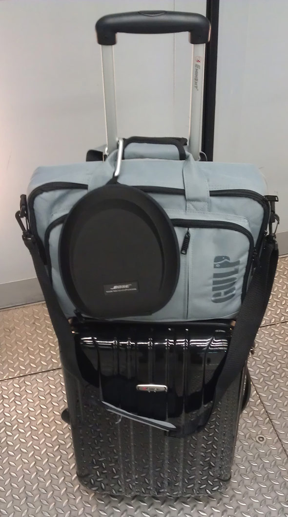 Fotorucksack leicht transportiert