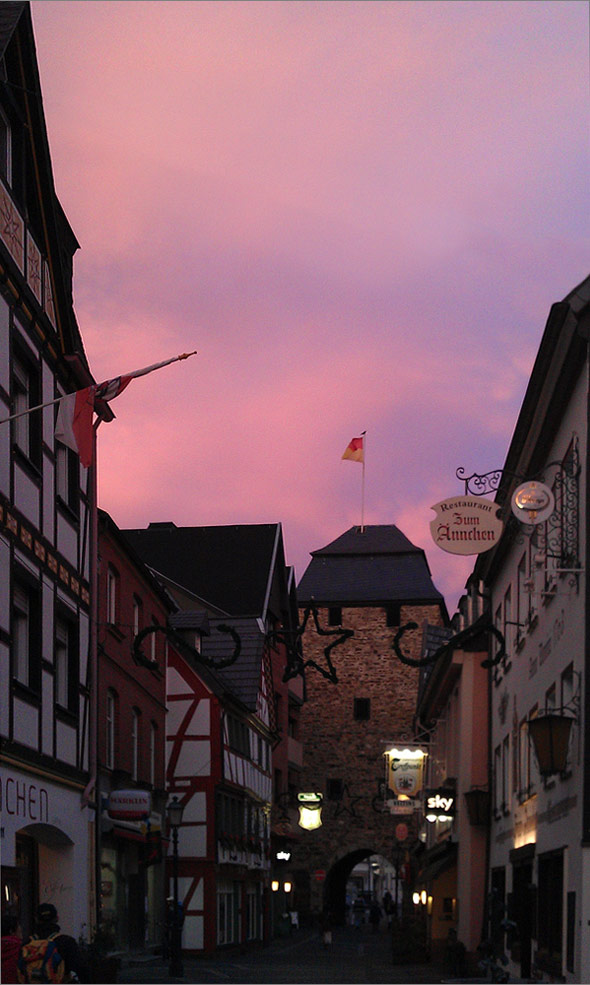 HTC Desire HD - Ahrweiler - Sunset